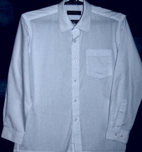 Рубашка школьная, рост 146-152
