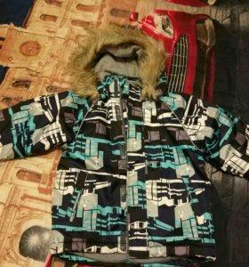 Куртка зимняя Хуппа