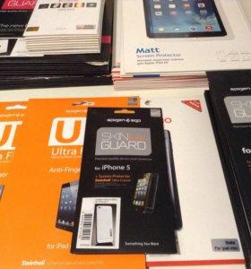 Защитные пленки на iPhone, iPad, mini iPad