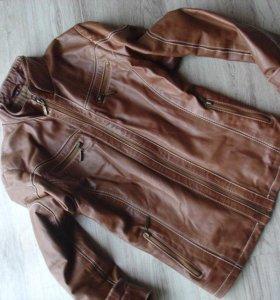 Натуральная кожа.куртка