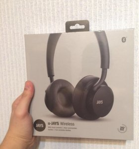 Наушники Bluetooth Jays U-Jays Wireless Black