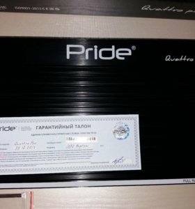 Pride Quattro Plus уселитель 4х канальный