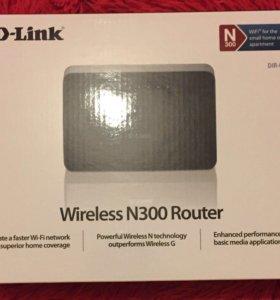 WiFi роутер D-Link N-300