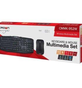 Беспроводной набор клавиатура и мышь CMMK-952W