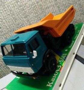 Модель КАМАЗ 5511