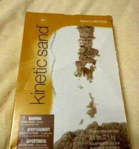 Кинетический песок оригинал новый