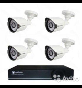 Новый комплект видеонаблюдения