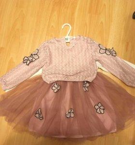 Красивое платье, комплект