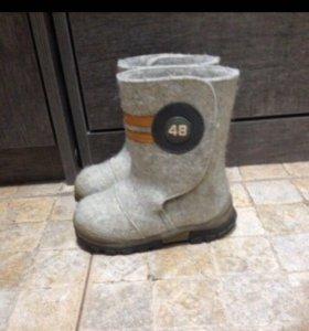 Обувь детская зима (валенки)