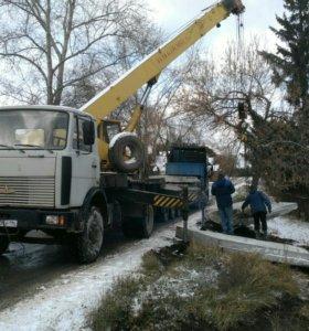 Автокран 17 тон-14 м.