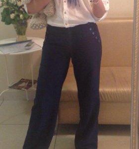 Льняные брюки размер 42-44
