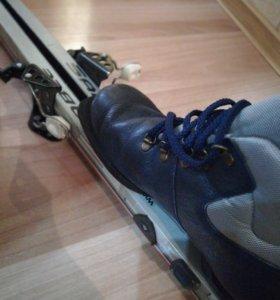 Лыжи беговые с ботинками (40)
