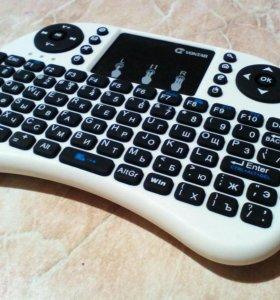 Для Смарт ТV. Беспроводная клавиатура с тачпадом.
