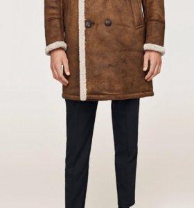 Дублёнка от Zara 2017 winter НОВАЯ !