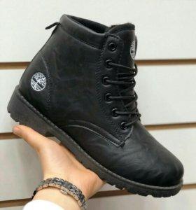 Новые ботинки зима р.35-40