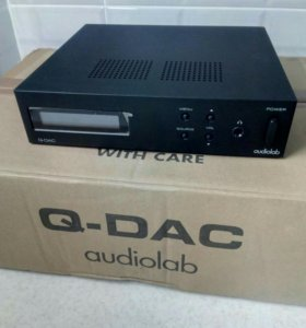 Цап Audiolab Q-DAC black