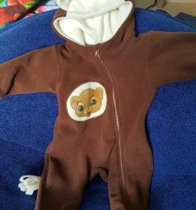 Новогодний костюм на малыша