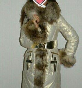 Пуховое пальто Royal cat 46-48рр