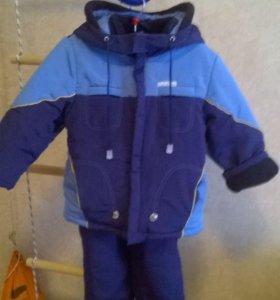 Куртка и полукомбинезон зимний