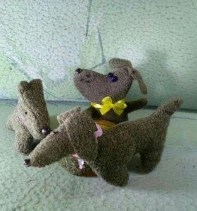 Игрушка мягконабивная Собака