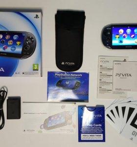 PS Vita (прошитая, 33 игры, 64 гб.)
