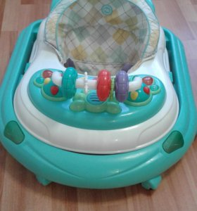 Ходунки Happy Baby Smiley V2, цвет: Blue