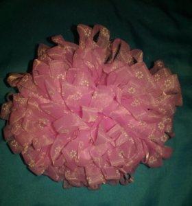 Резинка обьемный цветок