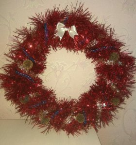Рождественский (новогодний) венок
