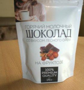 Горячий молочный шоколад