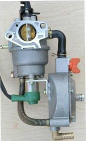 Карбюратор для бензогенератора бензин/газ