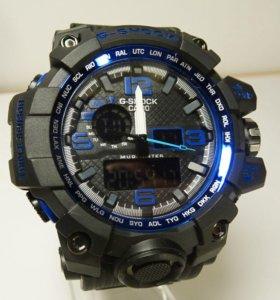 Мужские синие часы G-shock новые