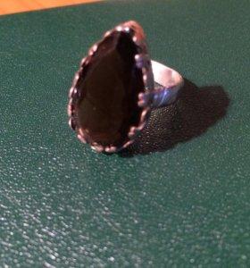 Серебро раухтопаз перстень 💍