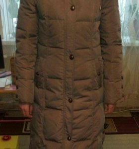 Пуховик Зимний, женский, размер 46.