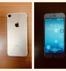 Айфон 7 gold 128 гб.