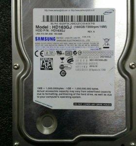 Жесткий диск Samsung на 160 GB