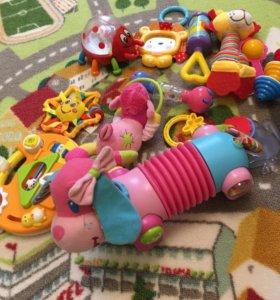 Разаивающие игрушки, собака tiny love