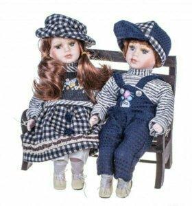 Керамические куклы новые