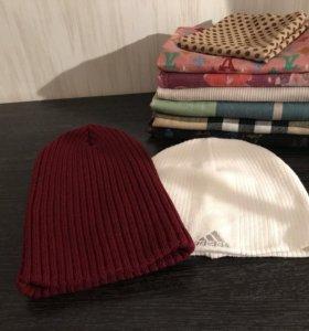 Платки, шарфы, шапки