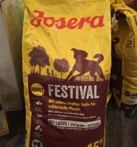 Корм для собак JOSERA суперпремиум