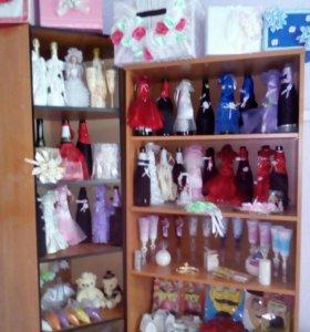Распродажа свадебных атрибутов и аксессуаров