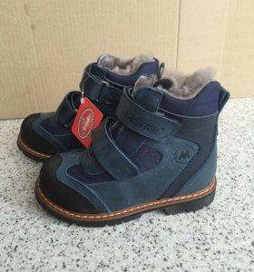 Зимние ботинки Minicolor новые