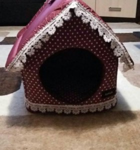 Домик для собачек мелких пород