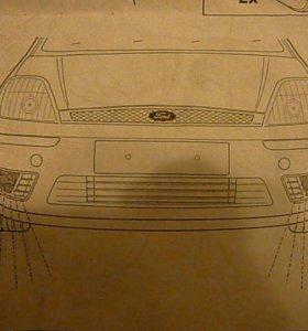 Комплект противотуманок на Форд оригинал