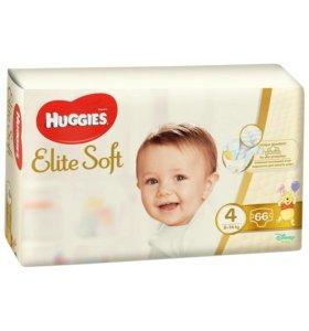 Подгузники Huggies Elite Soft 4