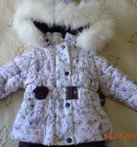 Комбинезон зимний для девочки Donilo