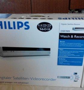 Новый Спутниковый видеорекордер Philips DSR 7005
