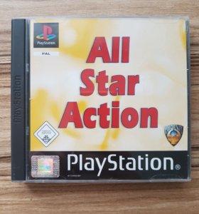 PS1. All Star Action. Лицензия