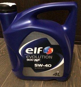 Масло моторное синтетическое ELF 900 NF 5W-40