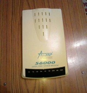 Модем Acorp 56K