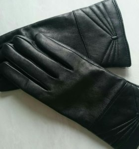 Перчатки кожаные. Новые.